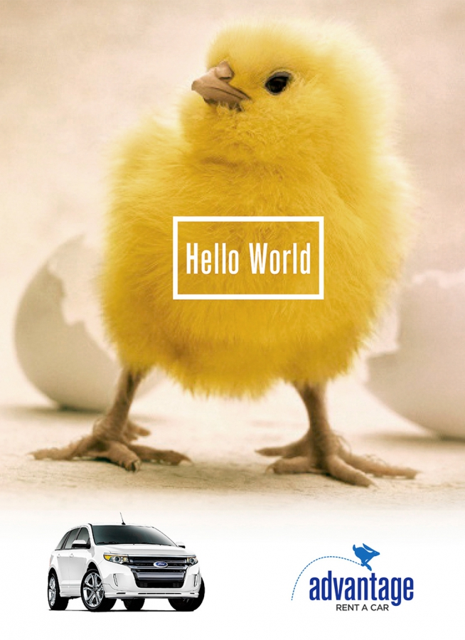 Hello World Ad