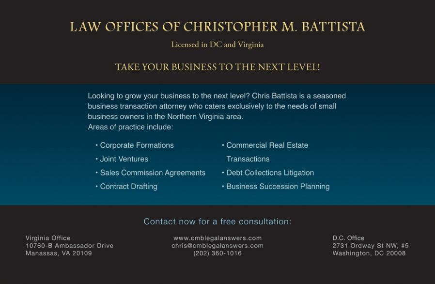 Law Offices Direct Mail Design and Layout