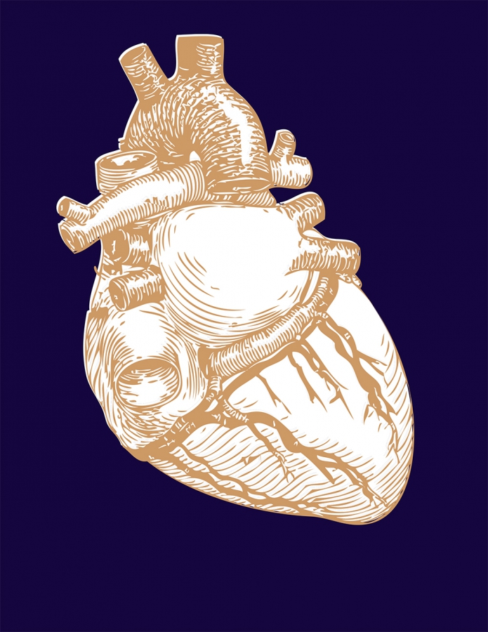 Heart Print Design