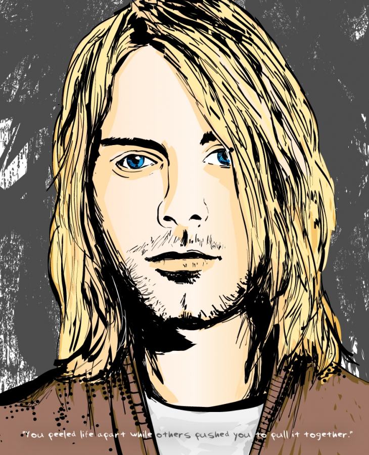 Letters to Kurt Book Illustration