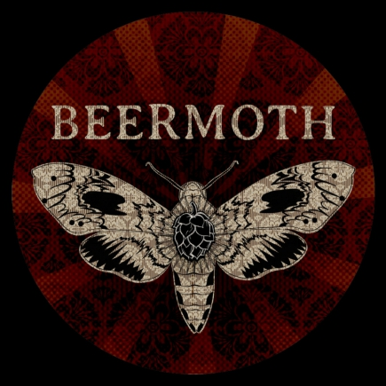 Beermoth Logo Illustration and Design