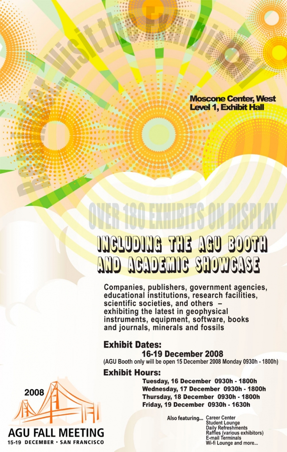 Exhibits Poster Design and Layout