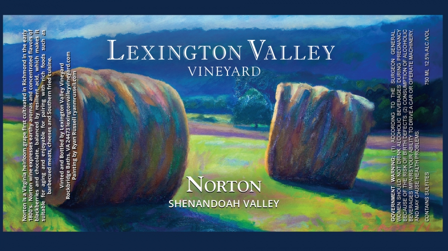 Lexington Valley Vineyard Label