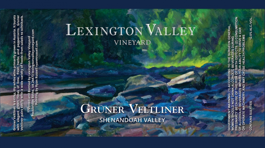 Wine Label for Lexington Valley Vineyard