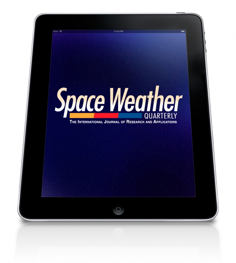 Space Weather Mobile App Design