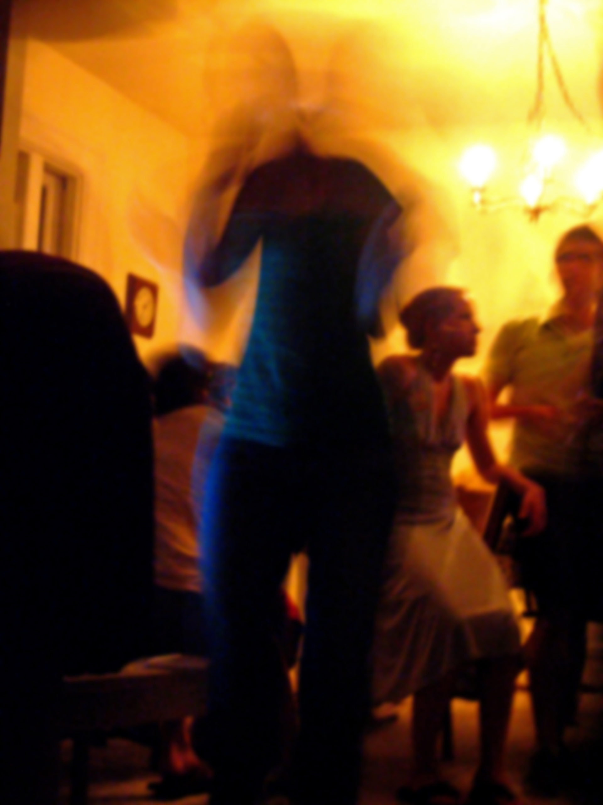 Columbia Heights house party, Washington D.C., August 2006