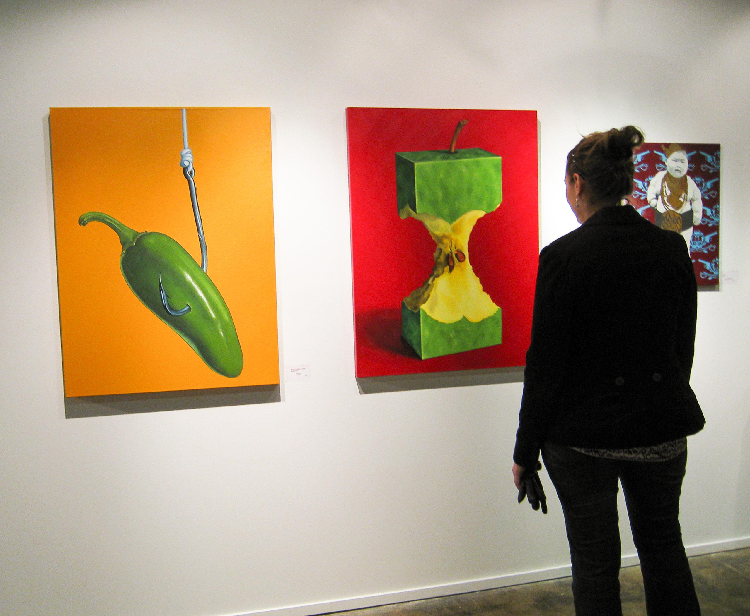Torpedo Factory Art Show, Alexandria Virginia, December 2007
