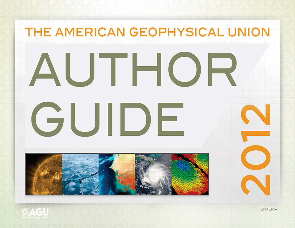 Author Guide - Cover